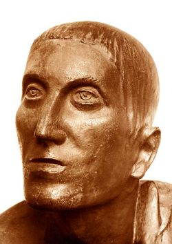 The prodigal son (detail), bronze, 212x149x99,5 cm - Aqui Terme, Italy